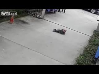 Наезд на ребенка