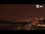 Фейерверк в честь открытия Всемирного фестиваля молодежи в Москве