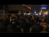 Радикалы в Киеве устроили провокации в годовщину 'майдана'