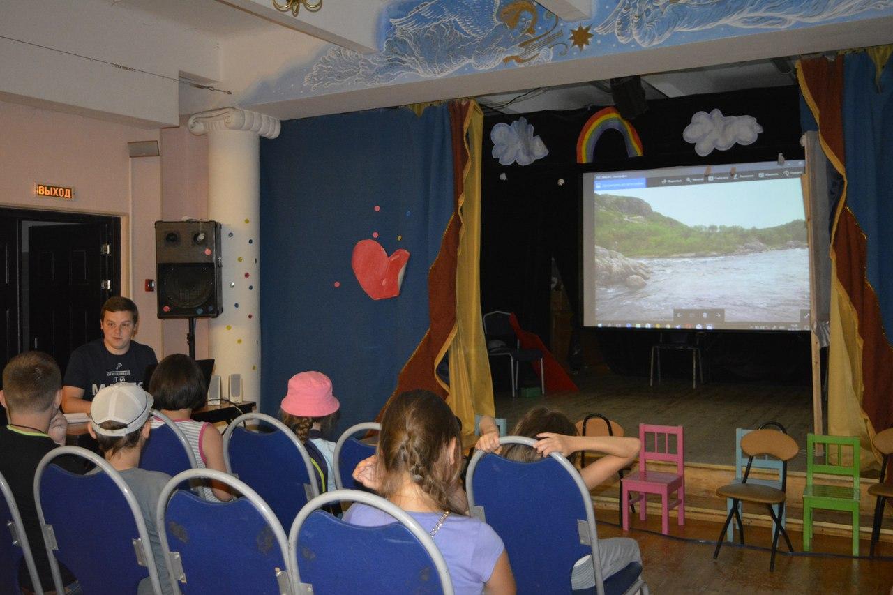 Вадим Пугин рассказывает детям о путешествии на север