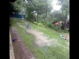 Давно в нас не було тако зливи..... #погода#дощ#з... Погода в городах России 23.06.2017