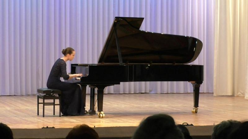 Афонина Наталия играет 2 тур X конкурса пианистов им. Т.П.Николаевой