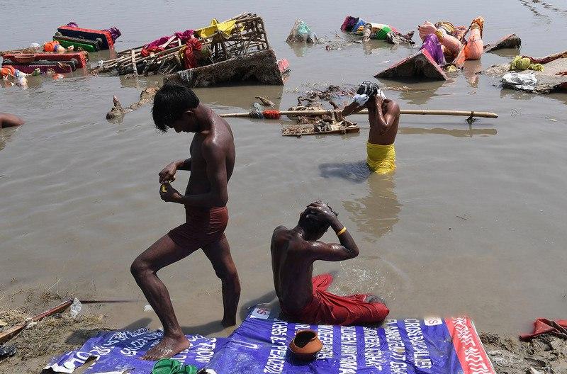 Индия - страна грустного праздника