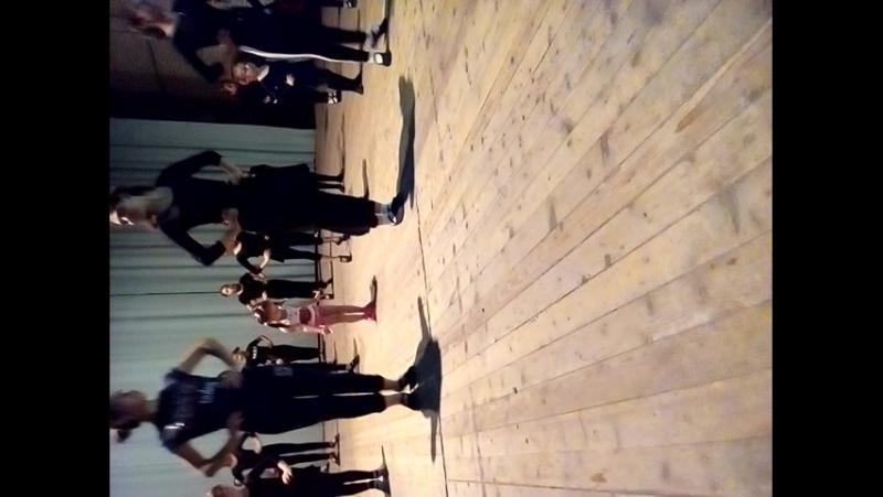 первый урок танцев Сашуля