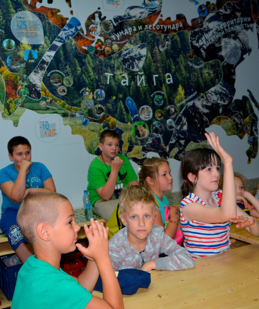 ребята Московии в Экошколе Кусково