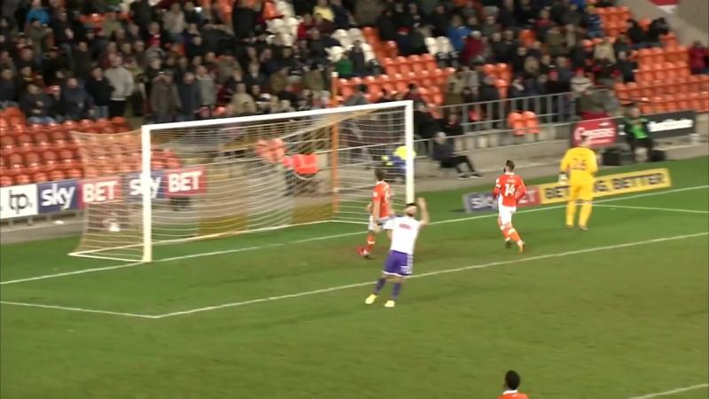 Блэкпул 1 - 2 Ротерхэм Юнайтед Лига 1 2017/18. 21 тур