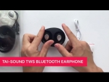 Tai sound 2017 new bluetooth earphone!