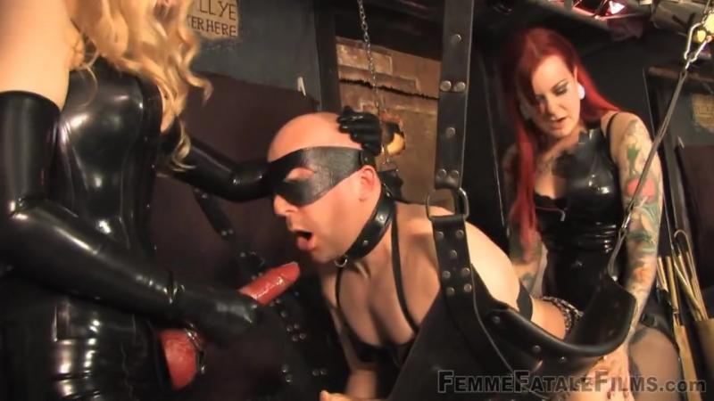 Slut training Mistress Leather Fem Dom Anal Facesitting Strap On Latex Fetish BDSM Bondage