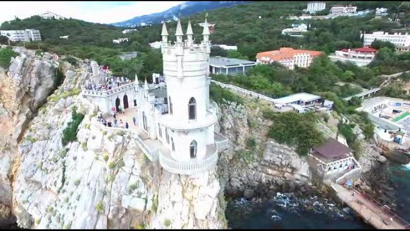 Замок Ласточкино гнездо в Крым
