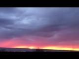 Вот такие красивые закаты в Северодвинске!