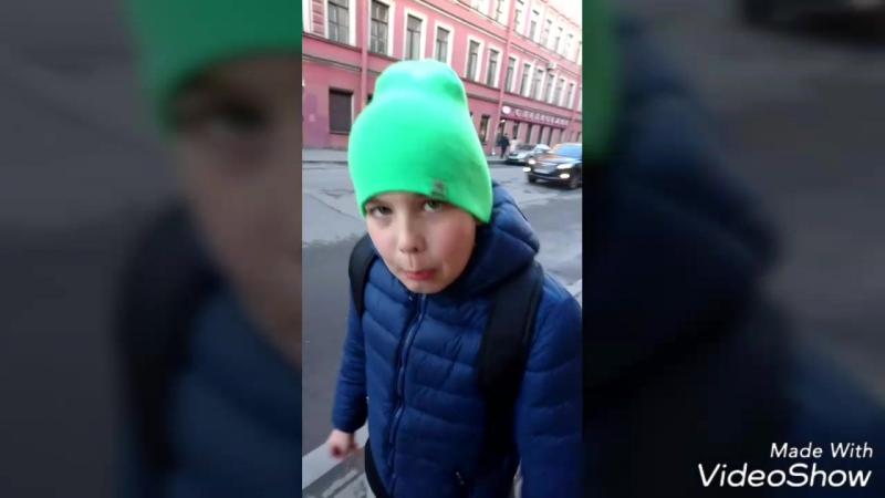 Питерские маршруты глазами детей ч.1