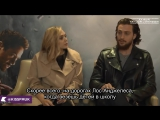 Avengers Age of Ultron Interview_ Aaron Taylor-Johnson &amp Elizabeth Olsen Quicksilver &amp Scarlet Witch Rus Sub