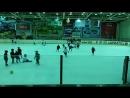 детский хоккей. тренировка