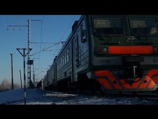 Троллинг от бригады ЭД4М-0220, 2060км, перегон Бишкиль - Полетаево
