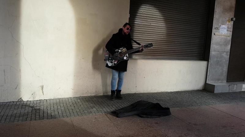 Улиный музыкант. Клайпеда.