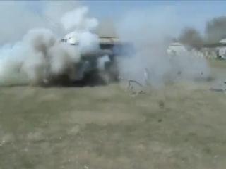 Спецназ прекратил съемку клипа Тает Лёд группы Грибы