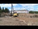 Губернатор Виктор Назаров дал старт строительству школы в микрорайоне «Петропавловка» в Муромцево