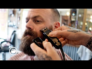 Game of Thrones Style Beard Trim and Haircut
