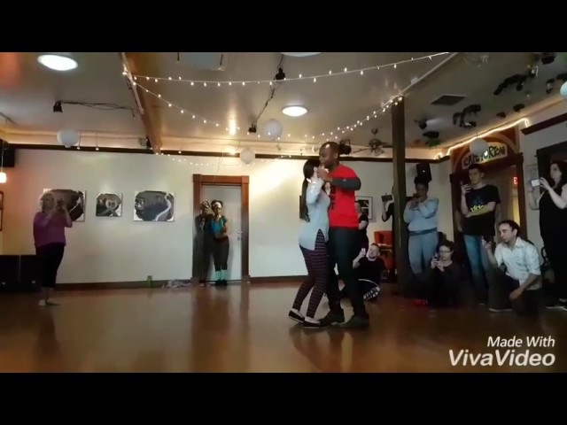 Kizomba Demo 3 Paulo Isidoro and Shannon Urza Portland Pitanga March 2017
