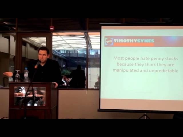 Timothy Sykes Seminar In Moscow, Russia Part 1