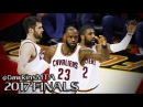 LeBron James & Kyrie Irving & Kevin Love 94 Pts Combined in 2017 Finals Game 4 vs GSW - UNSTOPPABLE!