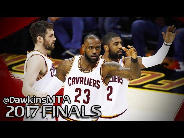 LeBron James Kyrie Irving Kevin Love 94 Pts Combined in 2017 Finals Game 4 vs GSW - UNSTOPPABLE!
