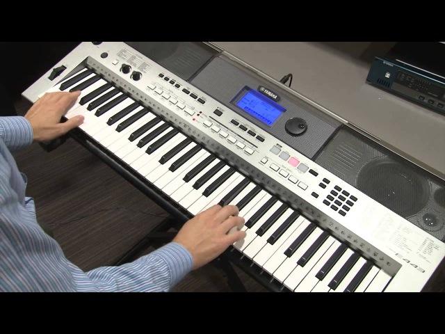 Использование Контроллера PITCH BEND на инструменте Yamaha PSR-E443