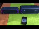 Мини тест Sony SRS-XB30 vs Sony SRS-XB40. Ссылки на все характеристики в описании