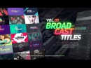 TypeX - Text Animation Tool | VOL.05: Broadcast Titles Pack