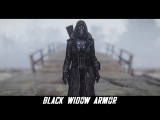 Fallout 4 Mods Black Widow Armor and Pipboy