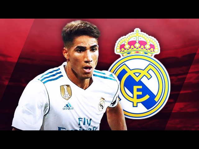 ACHRAF HAKIMI (أشرف حكيمي) - Fantastic Defensive Skills, Passes Runs - 2017/2018 (HD)