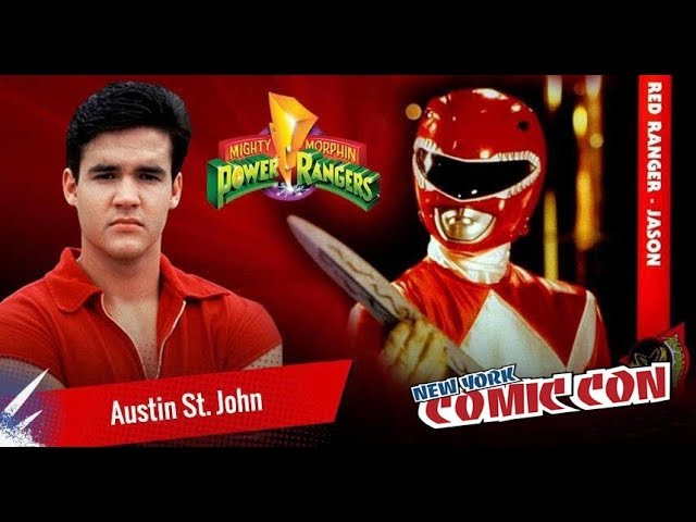 Interview with Austin St. John of New York Comic Con 2017