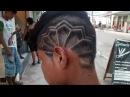Corte de cabelo com desenho disfarçado Barbearia stilus hair