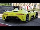 Dallara Stradale: Official Unveil Parade, Walkaround Driving Scenes