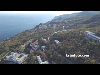 Ливадийский дворец Крым Ливадия ЮБК с высоты птичьего полета