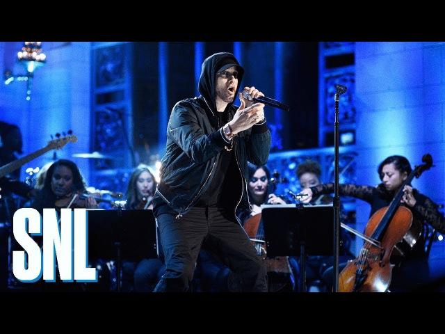 Eminem: Walk on Water, Stan, Love the Way You Lie (ft. Skylar Grey) (Live) - SNL