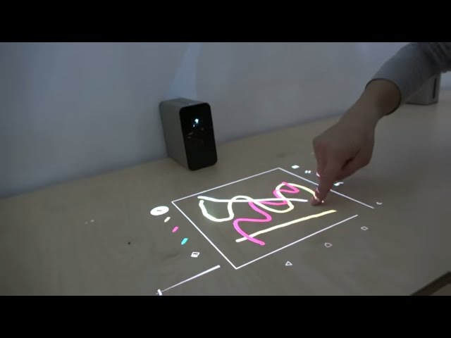 Sony Xperia Touch, projector turns any table or wall into a 23 Android tablet