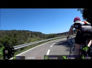 Sunshine Road Cycling Video for Indoor Bike Training Spain 70 Minute