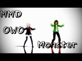 【Storyshift-MMD】Monster(Asriel Chara)