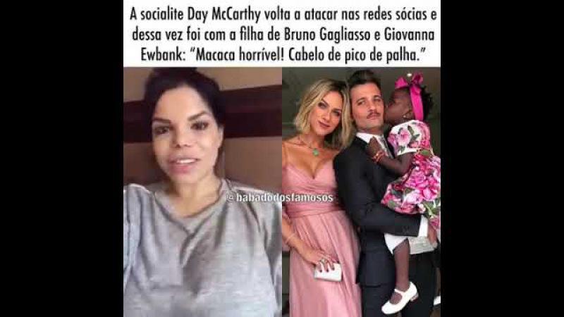 Socialite Day McCarthy Chama Filha De Bruno Gagliasso e Geovanna Ewbank De MACACA HORRIVEL