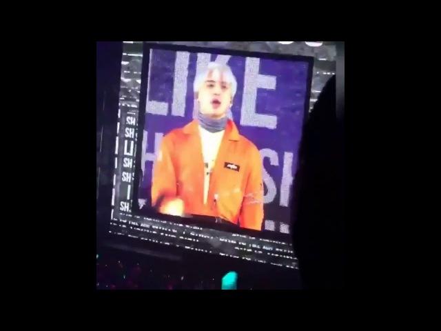 171210 Shinee Jonghyun last farewell with Taemin Minho he danced to Taemin's Move😭look at minho💔