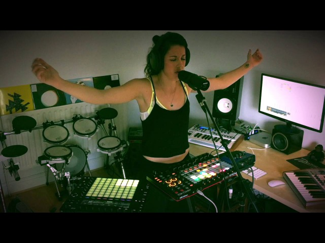 Ableton Push and APC 40 MKII Performance Caught Out There (Kelis Cover)