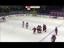 Драка в матче чемпионата мира по хоккею,среди женских молодёжных сборных Росси ...