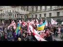 Как в Грузии ненавидят Саакашвли в Тбилиси прошел многотысячный марш в поддержку политика, захваченного ОПГ порошенко