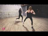 Kat McNamara kick ass moves w Shape Magazine