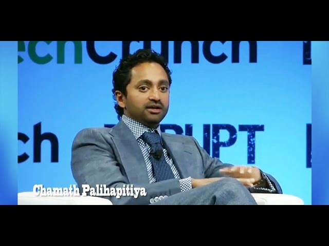 Chamath Palihapitiya, former Facebook executive