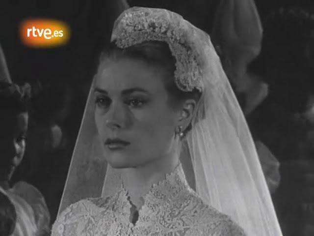 Grace Kelly - Prince Rainier de Monaco se casa con Grace Kelly