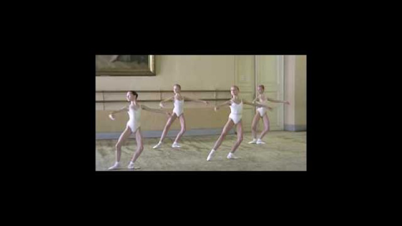 Vaganova Ballet Academy - Girls - 2 nd year - filmed in 2000