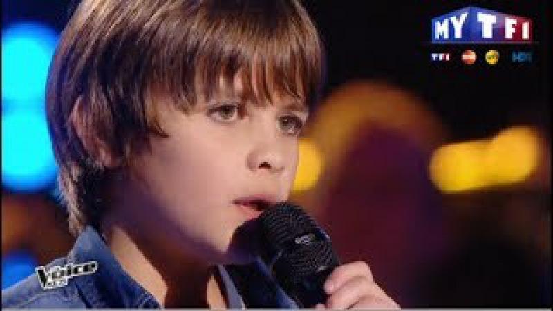 The Voice Kids 2017   Thomas - Si jamais j'oublie (Zaz)   Blind Audition