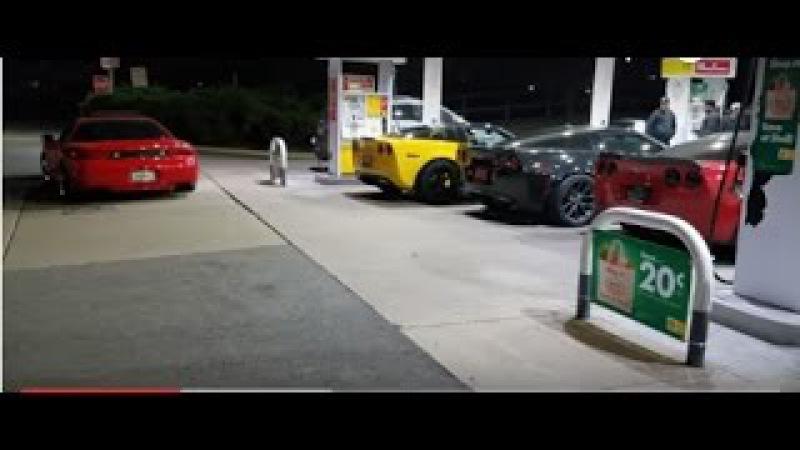 Corvette Z06 takes on 600HP 3000GT VR-4...plus 335xi, Trans Am